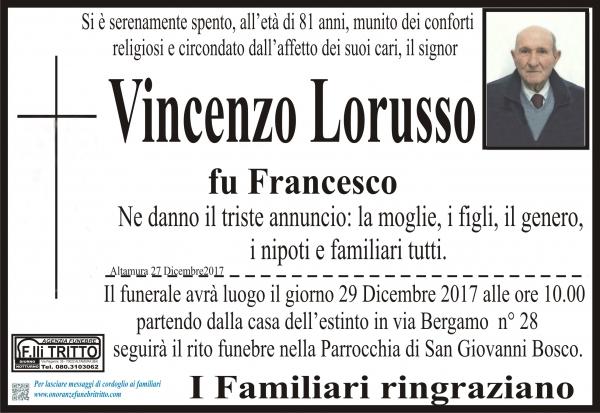 VINCENZO LORUSSO