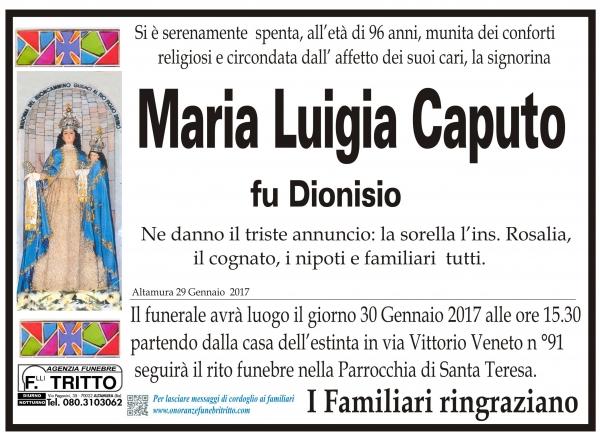 Maria Luigia CAPUTO