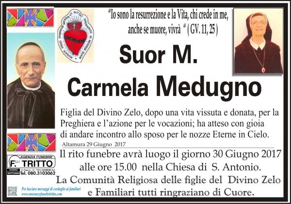 suor M. Carmela Medugno