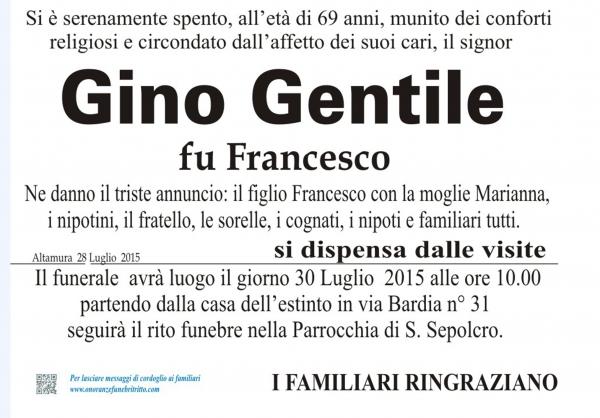 GINO GENTILE