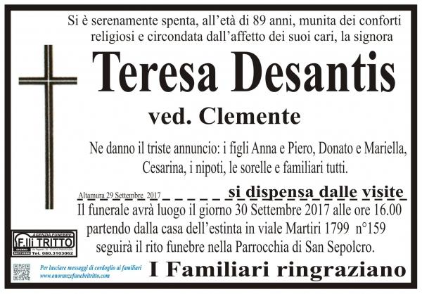 Teresa Giuditta Desantis