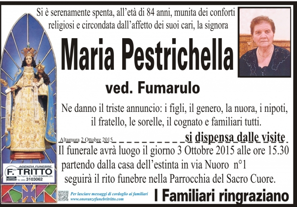 Maria Pestrichella