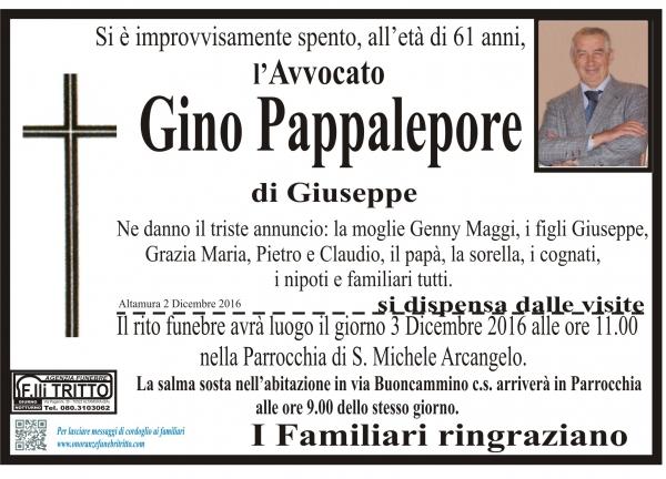 GINO PAPPALEPORE