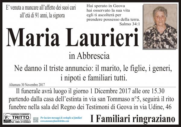 Maria Laurieri