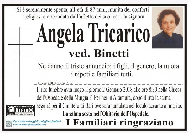 ANGELA TRICARICO
