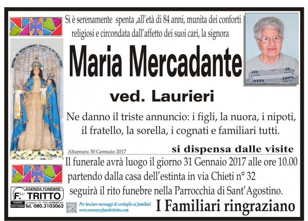 MARIA MERCADANTE