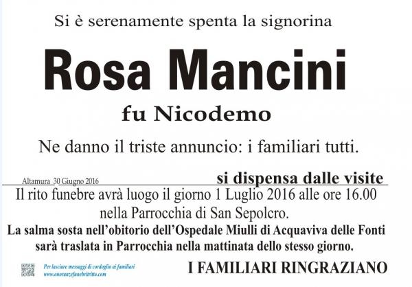 ROSA AURELIA MANCINI