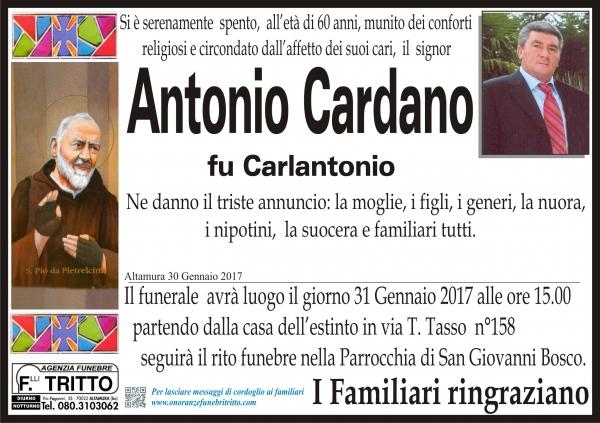 ANTONIO CARDANO