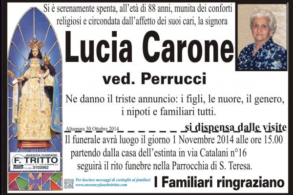 LUCIA CARONE