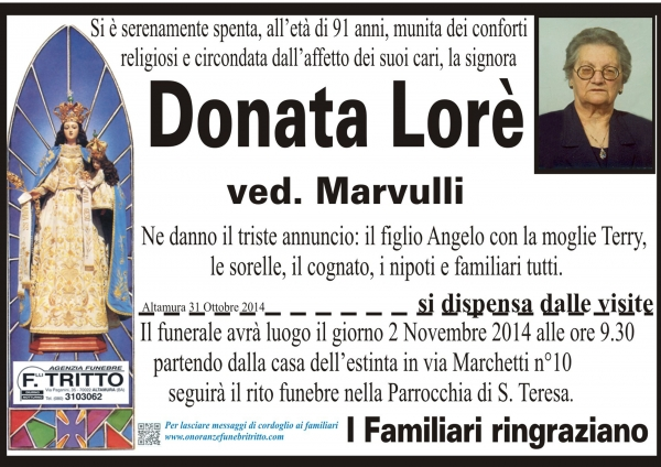 DONATA Lorè