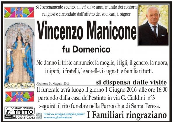 VINCENZO MANICONE