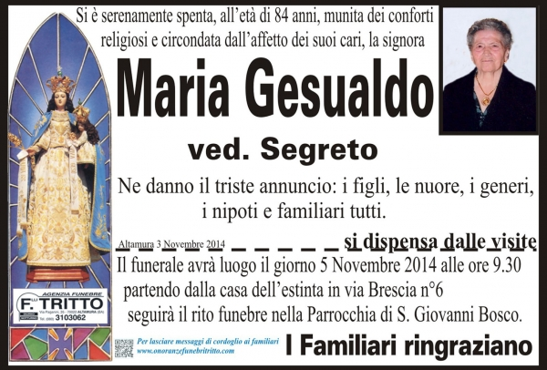 MARIA GESUALDO