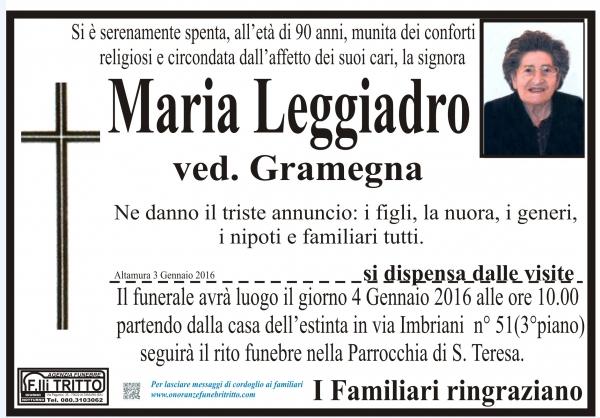 MARIA LEGGIADRO