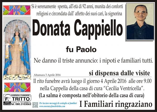 DONATA CAPPIELLO