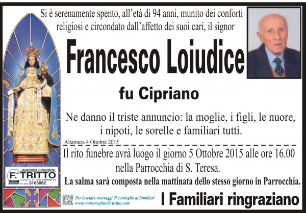 FRANCESCO LOIUDICE