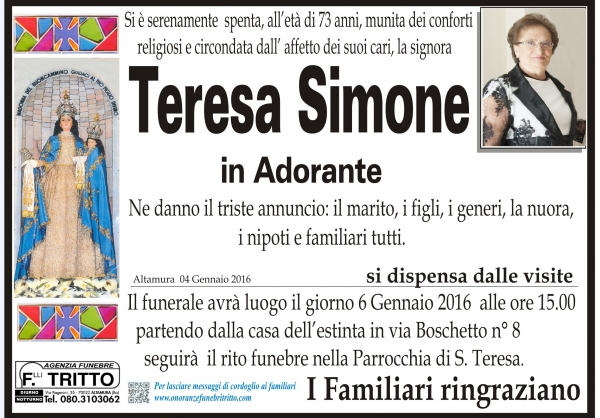 TERESA SIMONE