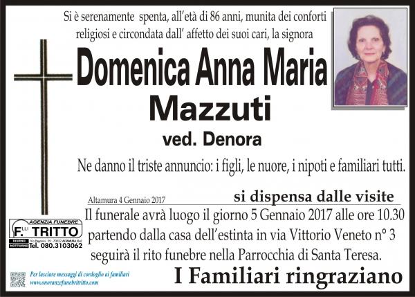 Domenica Anna Maria Mazzuti