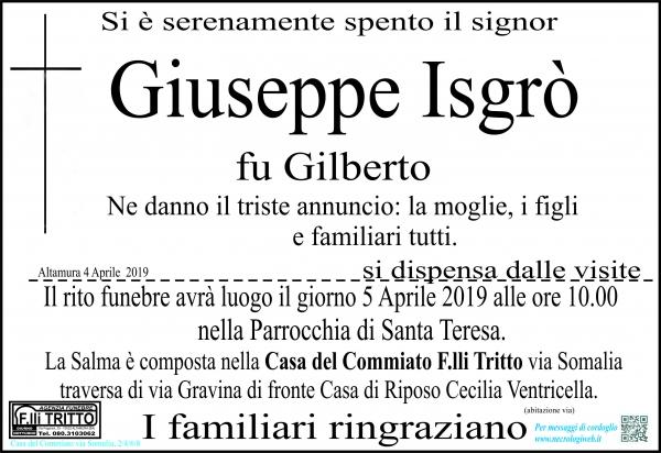 Giuseppe Isgrò