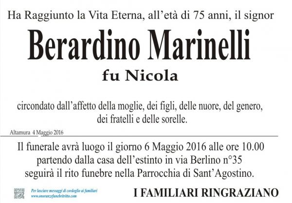 BERARDINO MARINELLI
