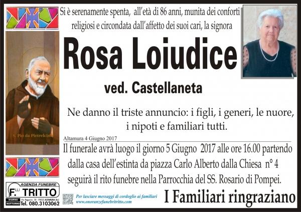 ROSA LOIUDICE