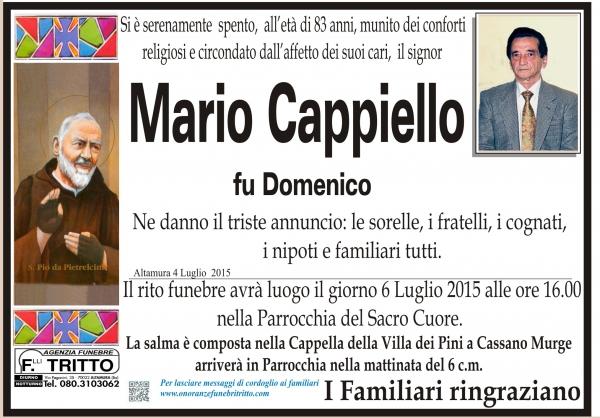 MARIO CAPPIELLO