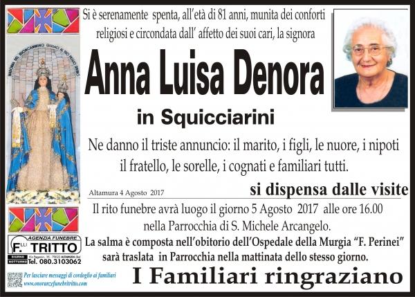 Anna Luisa DENORA