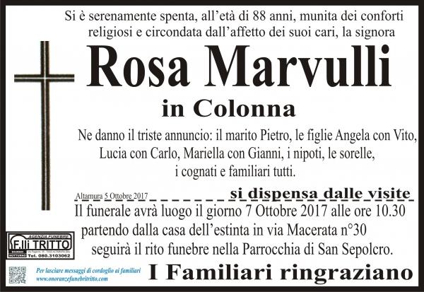 Rosa Marvulli