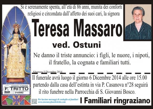 TERESA MASSARO