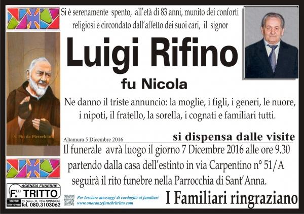 LUIGI RIFINO