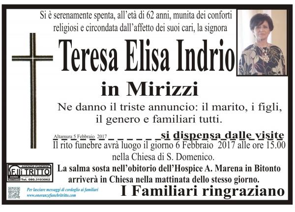 Teresa Elisa INDRIO