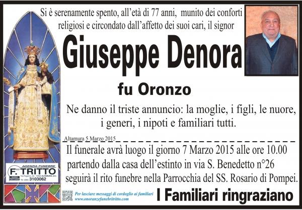 GIUSEPPE DENORA
