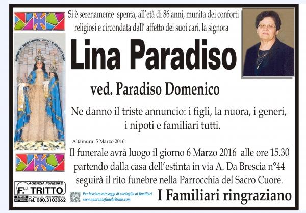 LINA PARADISO