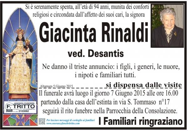GIACINTA RINALDI