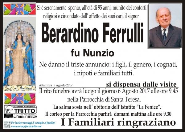 BERARDINO FERRULLI