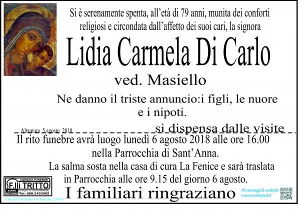 Lidia Carmela Di Carlo