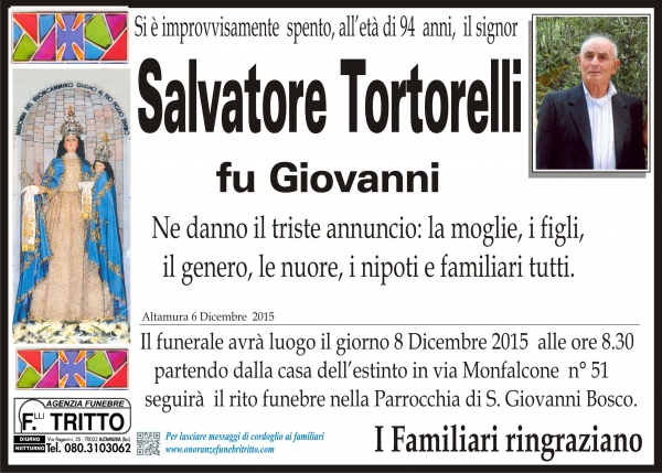 SALVATORE TORTORELLI