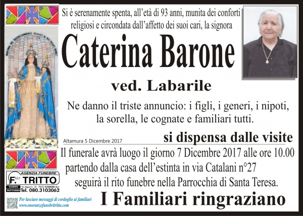 Caterina Barone