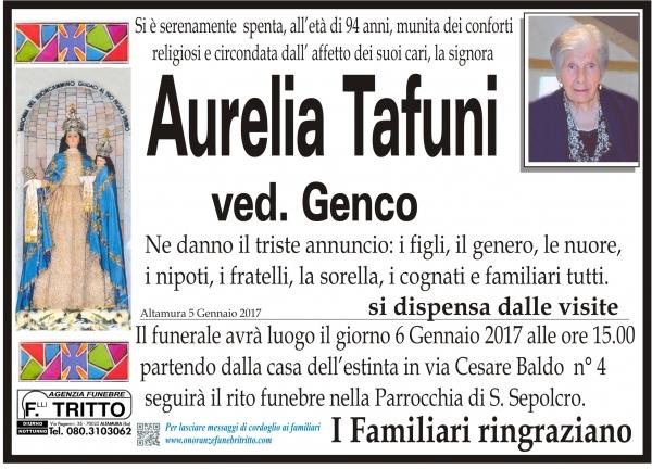 AURELIA TAFUNI
