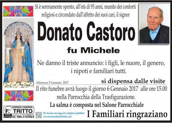 DONATO CASTORO