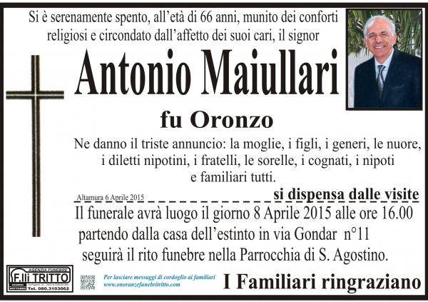 ANTONIO MAIULLARI