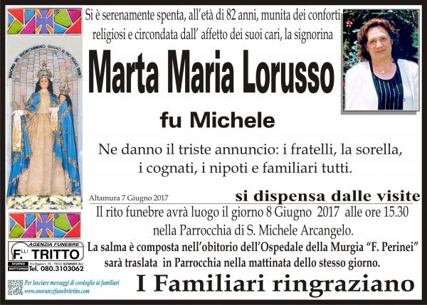 Marta Maria LORUSSO