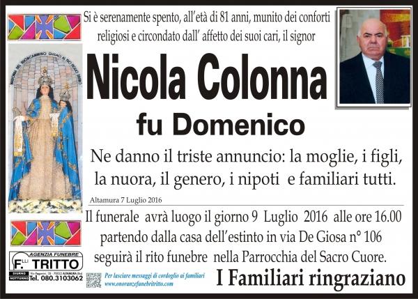 NICOLA COLONNA