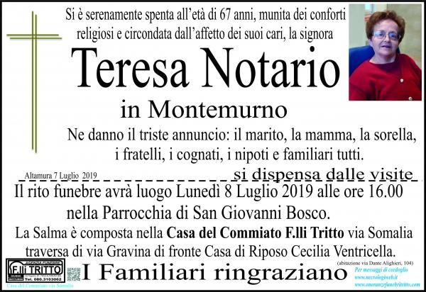Teresa Notario