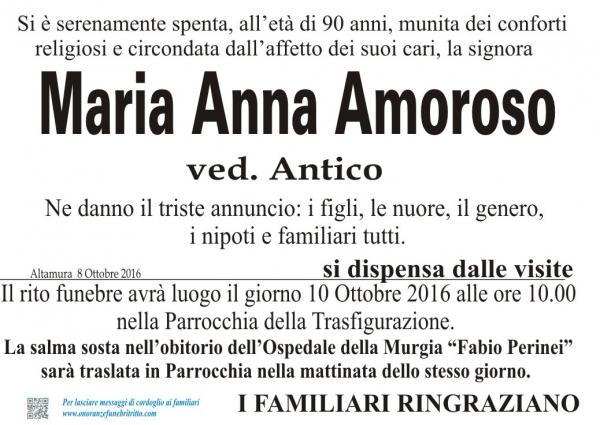 Maria Anna AMOROSO