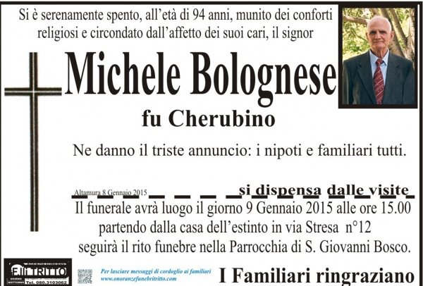 MICHELE BOLOGNESE