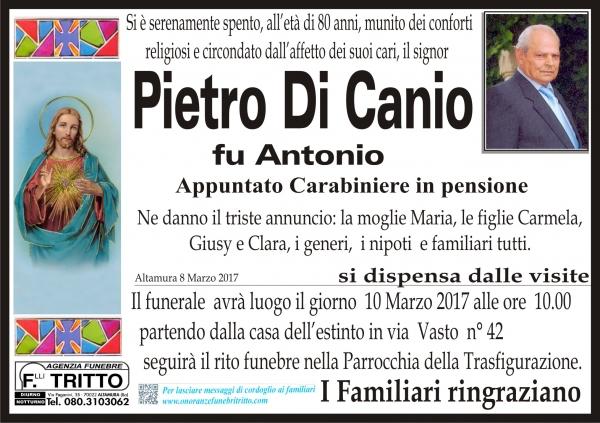 PIETRO DI CANIO