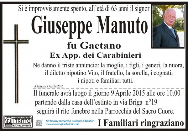 GIUSEPPE MANUTO