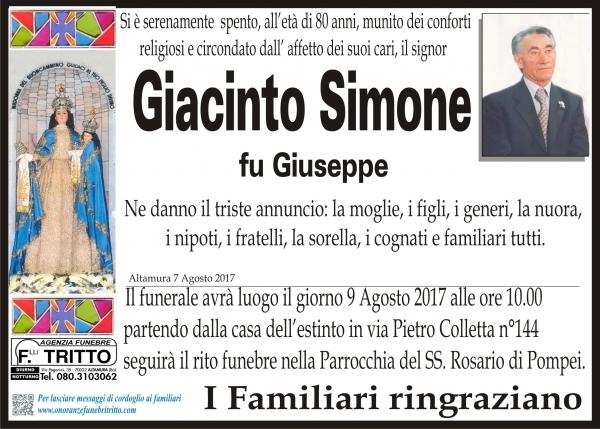 Giacinto Simone