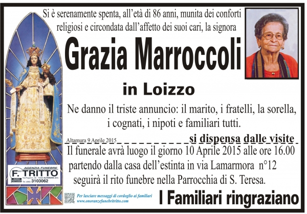 GRAZIA MARROCCOLI