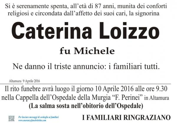 CATERINA LOIZZO
